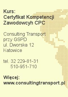 baner - Kurs: Certyfikat Kompetencji Zawodowych CPC